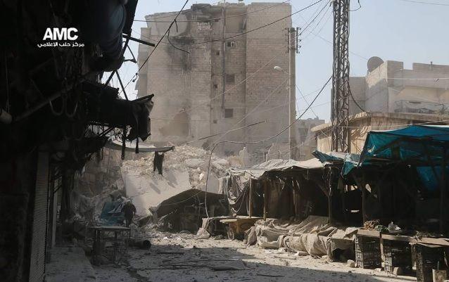 Под бомбежками вАлеппо задва дня погибло 145 человек