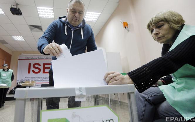 Напарламентских выборах вГрузии зафиксировано 100 нарушений