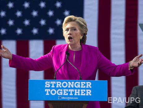 Клинтон больше всего ассоциируется уизбирателей сословом «почта»— Опрос