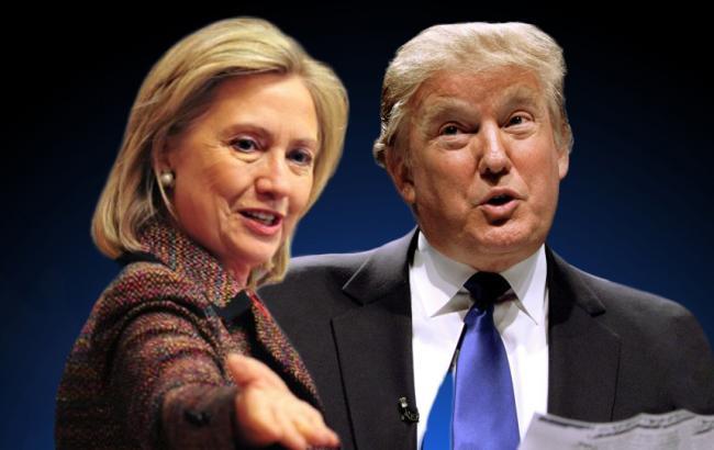 Клинтон опережает Трампа на6%,— опрос