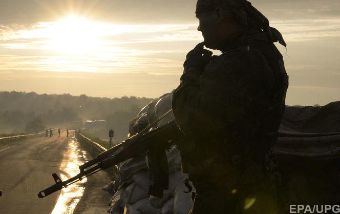Российско-оккупационные войска используют минометы повсей линии разграничения— Штаб АТО