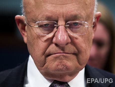 Руководитель государственной разведки США подал прошение оботставке