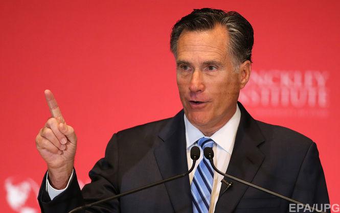 CNBC: Трамп может назначить Митта Ромни госсекретарем США