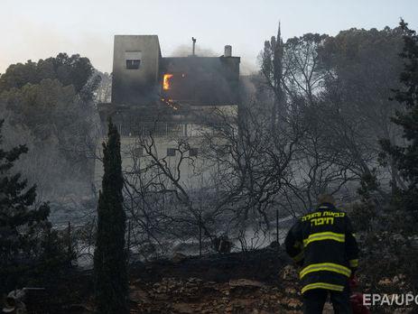 ВИзраиле задержали подозреваемых вподжогах леса