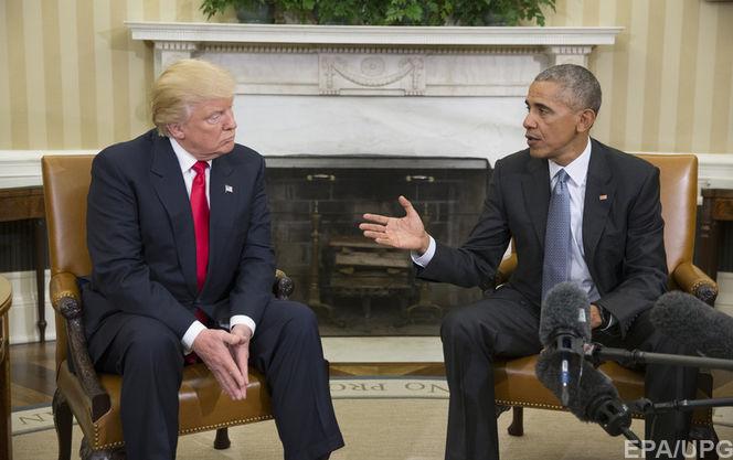 Проговорили 30 часов: уТрампа сказали оего стабильных звонках Обаме