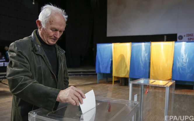 В22 областях государства Украины проходят здешние выборы