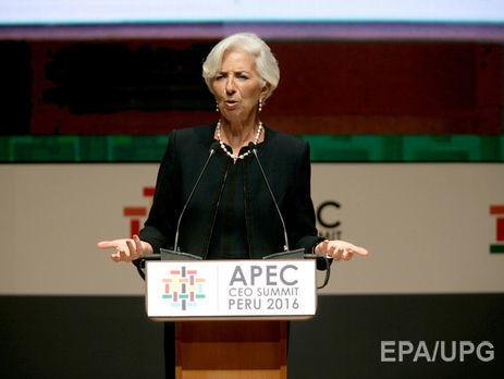 Суд признал руководителя фонда Кристин Лагард виновной вмошенничестве— МВФ