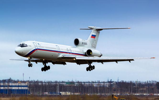Ту-154 мог упасть из-за попадания птицы в мотор самолета