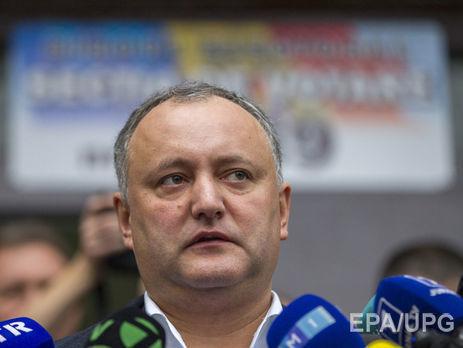 Никто вМолдавии нерискнет признать Крым русским — Игорь Додон