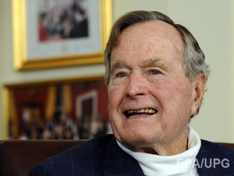 Экс-президент США Джордж Буш-старший госпитализирован