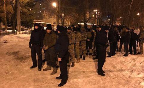 ВХарькове два украинских батальона неподелили блокаду Донбасса