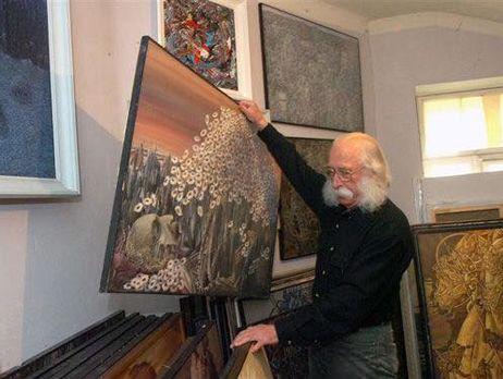 Ошеломляющая наглость: у именитого украинского художника похитили неменее 100 картин