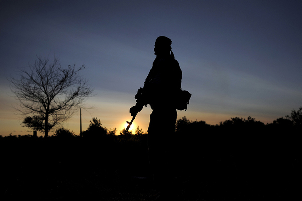 Нажитомирском полигоне отвзрыва гранаты умер телефонист