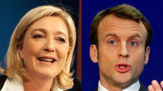 Опрос: Макрон опередит ЛеПен вовтором туре президентских выборов воФранции