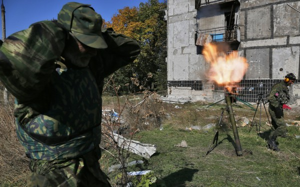 Боевики 22 раза открывали огонь, втом числе изтяжелого вооружения