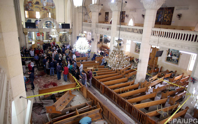 Число жертв в итоге 2-х взрывов вЕгипте достигло 30 человек