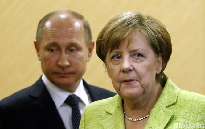 Ангела Меркель рассказала обусловиях снятия санкций сРФ