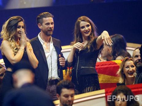 Евровидение-2017: участнице сделали предложение прямо вовремя эфира