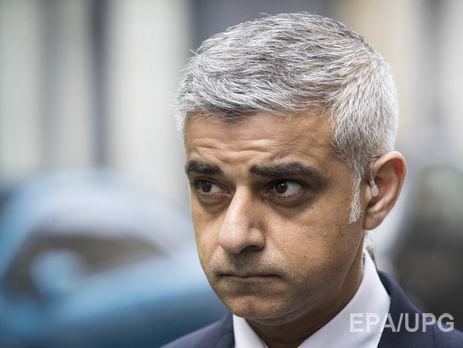 Мэр Лондона распорядился увеличить число полицейских на дорогах