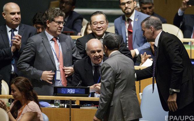 Япония высоко оценила резолюциюСБ ООН, расширяющую санкции против КНДР
