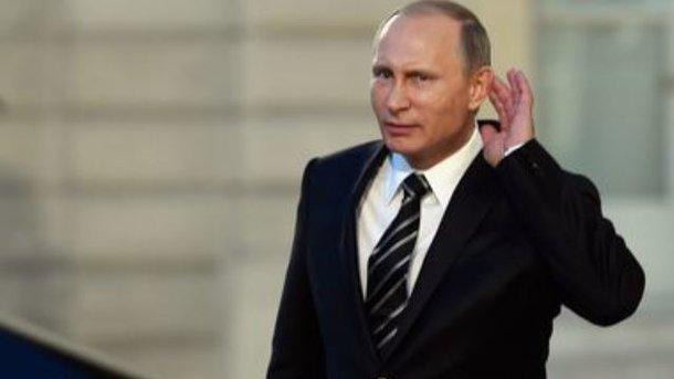 Путин прибыл ваннексированный Россией Крым