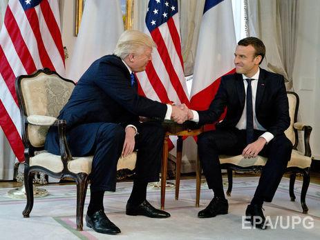 Макрон иТрамп будут совместно «наказывать» Сирию захиматаки
