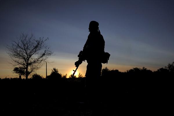 Штаб АТО: Снаступлением темноты боевики снова ударили поСтанице Луганской