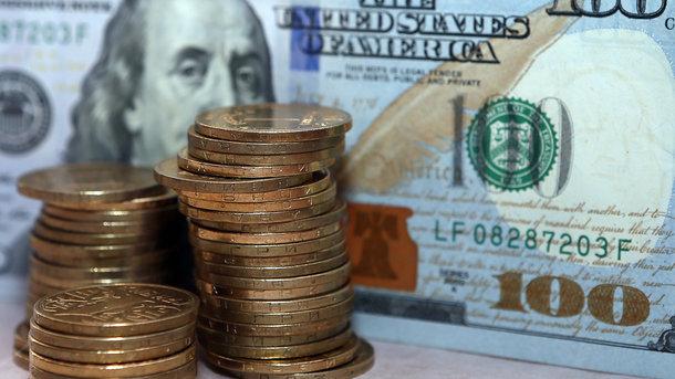 Руб. всамом начале дня стабилен кдоллару инезначительно растет кевро