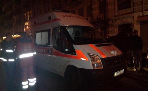 Вцентре украинской столицы расстреляли мужчину