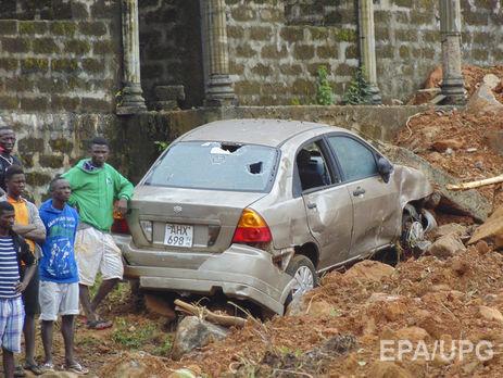 ВСьерра-Леоне отоползней инаводнения погибли неменее тысячи человек