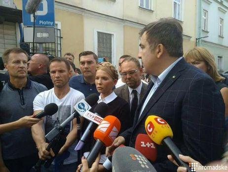 Порошенко назвал преступлением действия Саакашвили попересечению границы государства Украины