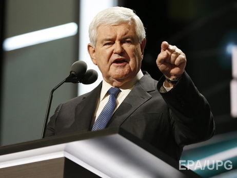 Экс-спикер Конгресса: Мир заставит Российскую Федерацию уйти изУкраины