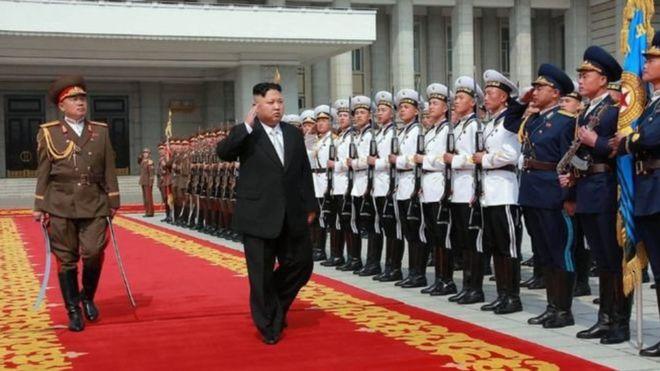 Ким Чен Ын объявил оскором завершении формирования ядерных сил КНДР