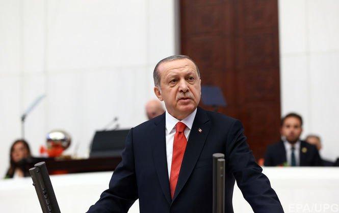 Эрдоган: Турция непризнает захват Крыма Россией