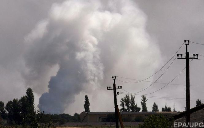 В ДНР сообщили о взрыве на складе боеприпасов