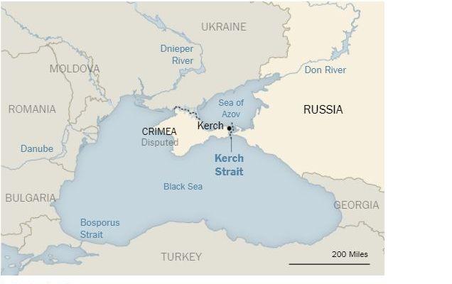 The New York Times небудет менять карту соспорным Крымом