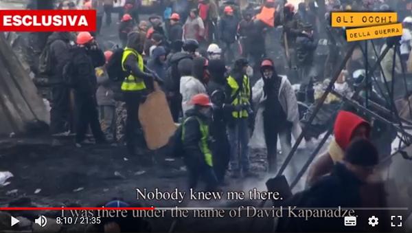Репортеры вскрыли связь между снайперами Евромайдана, Саакашвили иСША