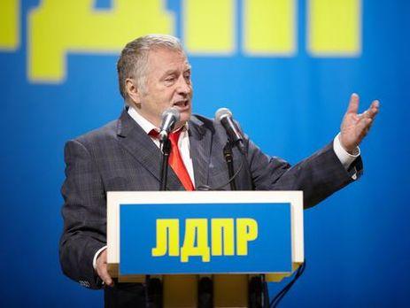 Владимир Жириновский выдвинут вкачестве кандидата впрезиденты