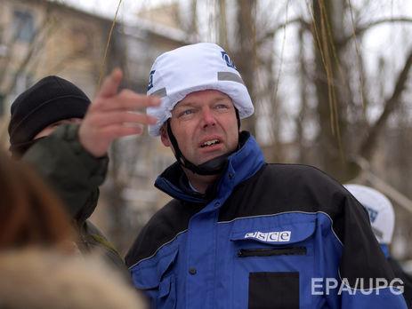 ОБСЕ показала, как террористы обстреливают район Донецькой фильтровальной станции