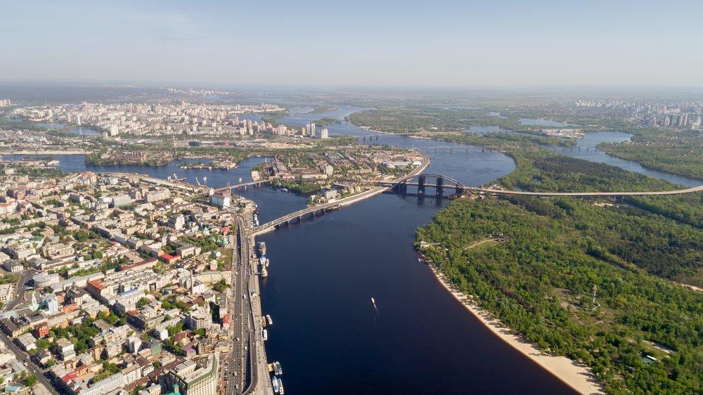 Киев назвали самым зеленым городом вевропейских странах