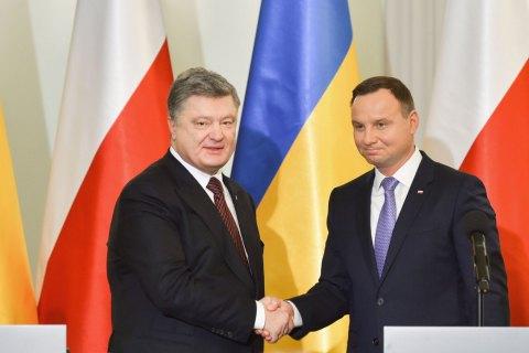 Президент Польши встретится сглавой Украины вХарькове