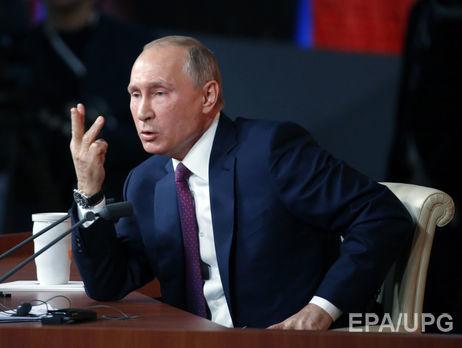 Путин оМинских соглашениях: эффективность невысокая из-за украинской столицы