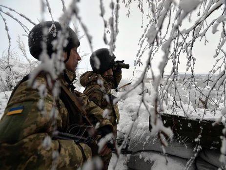 Взоне АТО засутки боевики 24 раза нарушили режим предотвращения огня