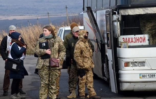 Вовремя обмена одна женщина отказалась возвращаться в государство Украину