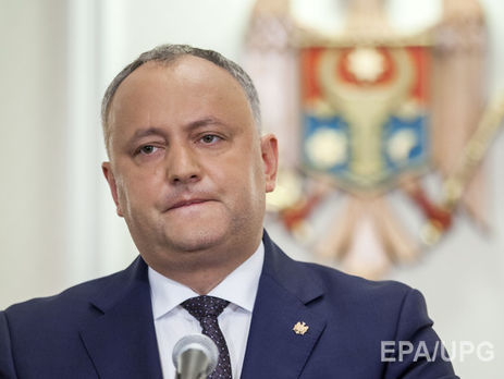 Конституционный суд Молдовы вкоторый раз остановил президентские полномочия Додона