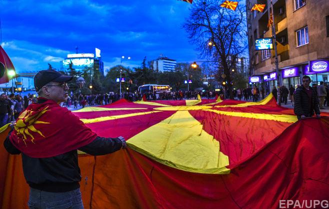 Македония начала переименования: «Воимя НАТО иЕС»
