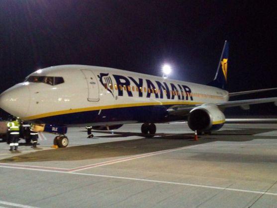 В «Борисполь» прибыл 1-ый самолет Ryanair