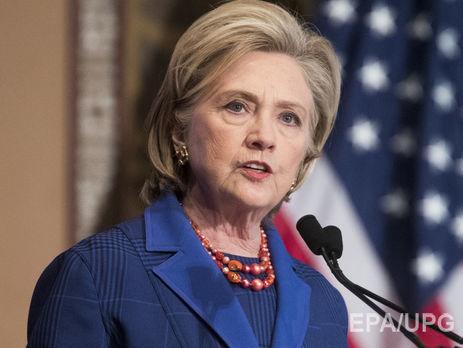 Клинтон призвала Трампа сражаться срусскими