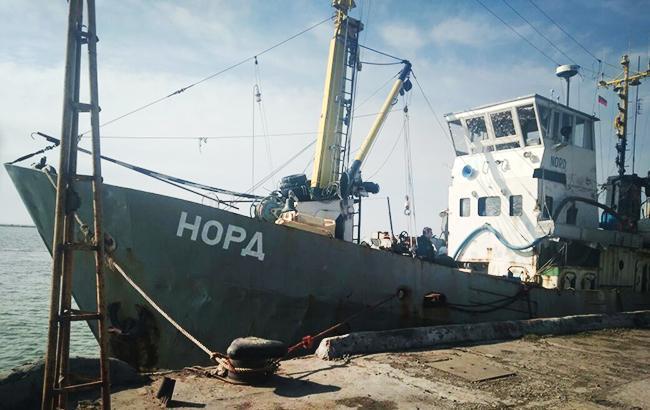 Оккупационная власть Крыма пробует передать украинские паспорта членам экипажа судна «Норд»