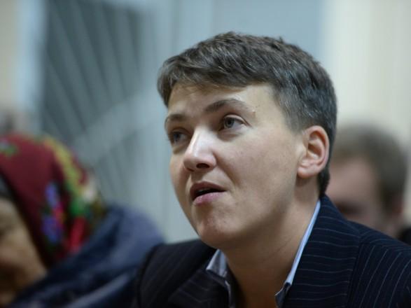 Савченко несмогла пройти полиграф из-за тахикардии итемпературы